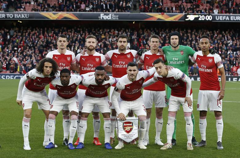Finał Ligi Europy Chelsea - Arsenal. Kto wystąpi w barwach Kanonierów?