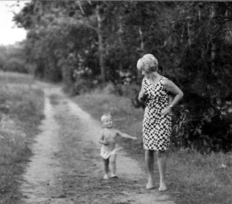 Alina Janowska i Michał Zabłocki, lato 1967