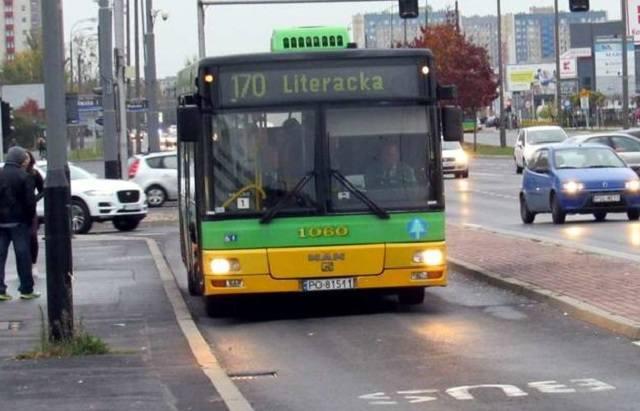Opóźnienia do 30 minut mogą notować od rana w środę, 11 września, autobusy MPK Poznań na liniach nr 164, 170 oraz 195. Wszystko przez korki w rejonach