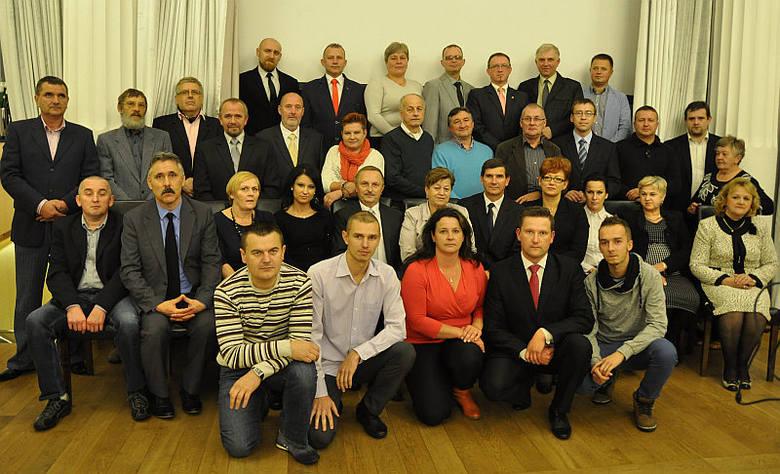 Uczestnicy konwencji Aktywnego Samorządu w Końskich