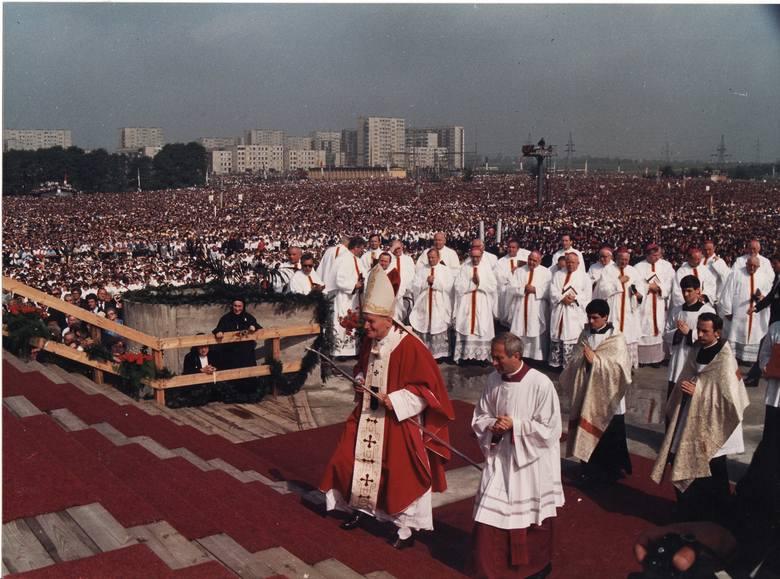 Pielgrzymka Jana Pawła II do Tarnowa w roku 1979.