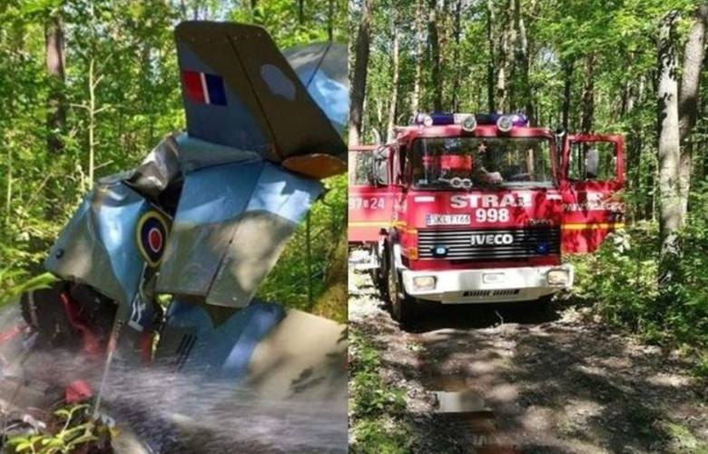 Katastrofa samolotu w Napoleonie pod Kłobuckiem