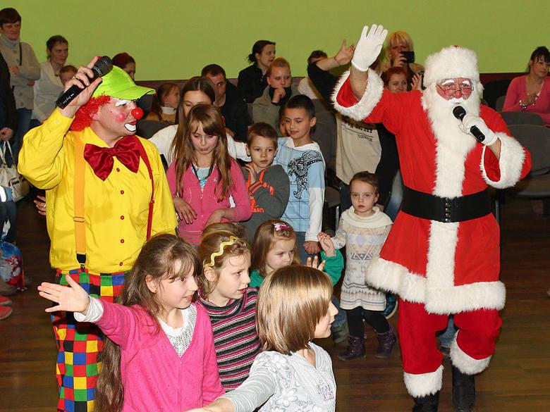 Mikołaj na zabawie w Grudziądzu