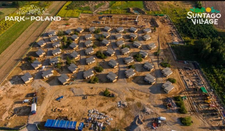 Obok aquaparku powstaje osiedle domków bungalowów