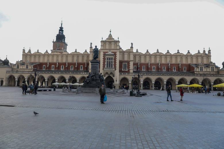 Kraków wygląda zupełnie inaczej niż zwykle