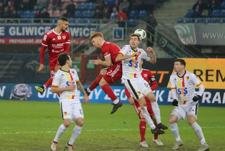 Strzelec gola dla Jagiellonii Karol Świderski został przez nas najwyżej oceniony za mecz z Piastem Gliwice (1:1). Skala ocen od 1 do 10.