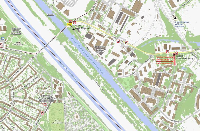 Przebudowa skrzyżowania na wschodzie Wrocławia. Wjazd na osiedle będzie zamknięty przez pół roku!