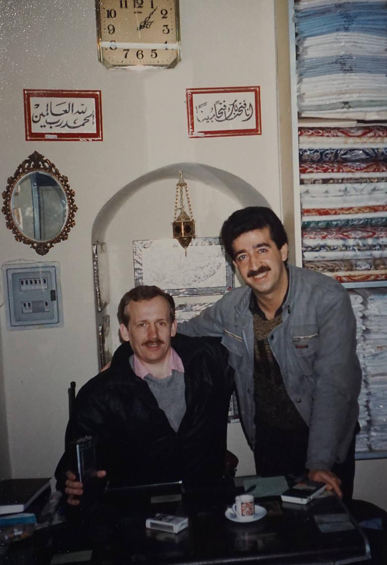 Eugeniusz Lipert (pierwszy z lewej) był na misji pokojowej ONZ w Syrii