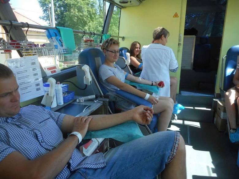 10,35 l krwi to wynik V akcji  zorganizowanej przez papowski Zarząd OSP. - Pobór w mobilnym autobusie przeprowadziła ekipa z Regionalnego Centrum Krwiodawstwa