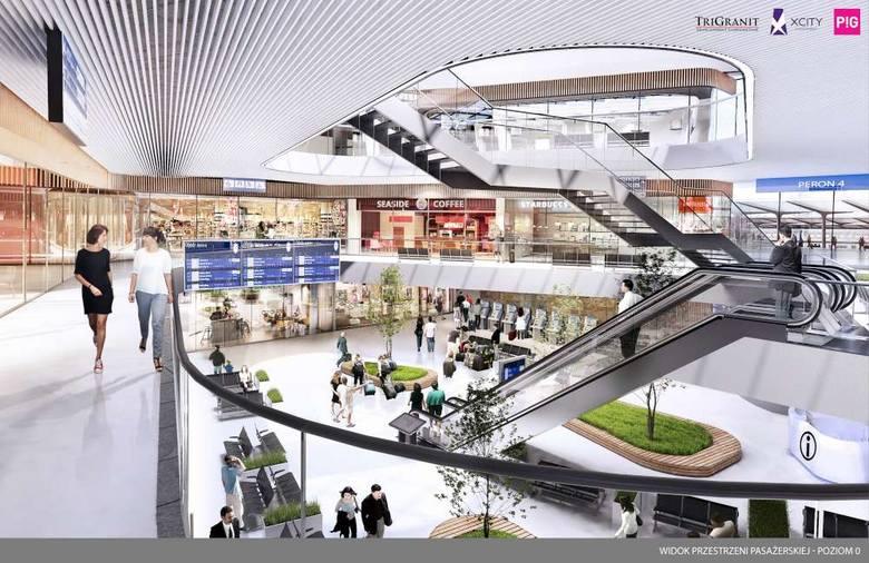 Przedstawiciele PKP i firmy TriGranit przedstawili radnym koncepcję zagospodarowania starego budynku dworca PKP w Poznaniu