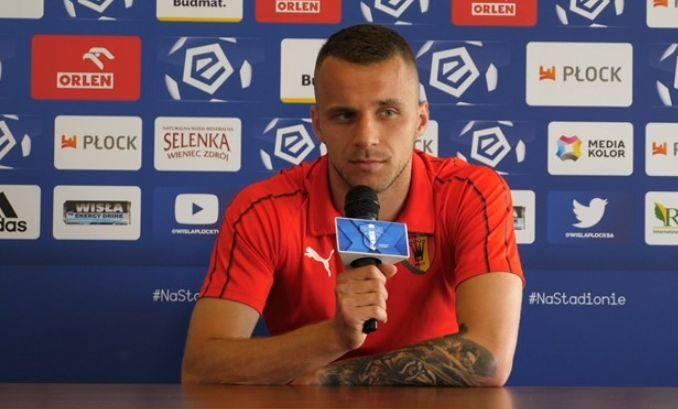 Marcin Cebula zdobył drugą bramkę dla Korony Kielce w wyjazdowym meczu z Wisłą Płock.