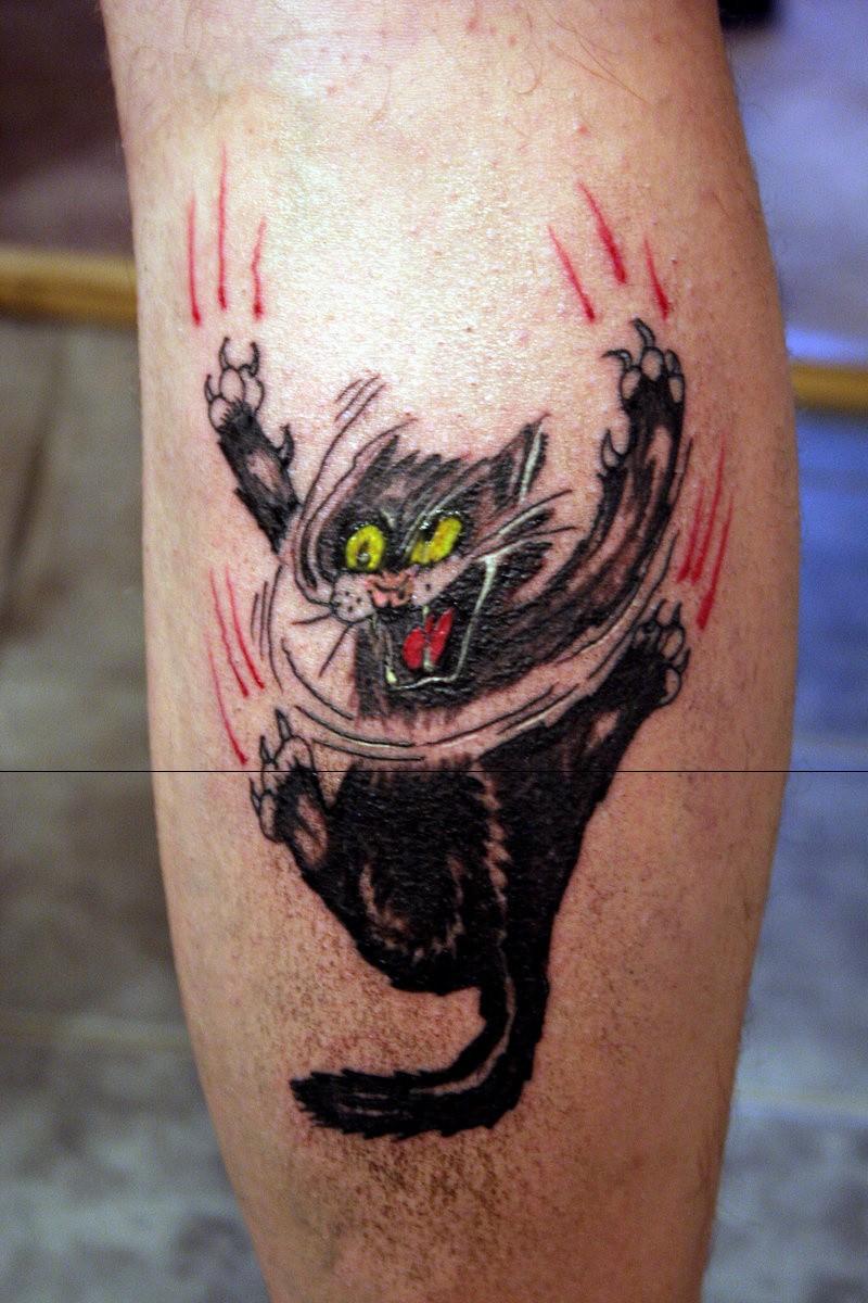 Kocie Tatuaże Zobacz Najciekawsze Tatuaże Przedstawiające Koty