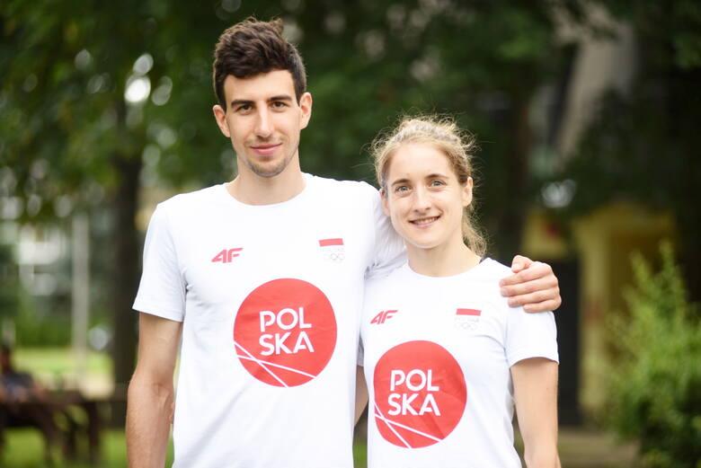 Anna Maliszewska i Sebastian Stasiak, pięcioboiści Olimpii Zielona Góra, reprezentanci Polski na Igrzyska Olimpijskie w Tokio 2020.
