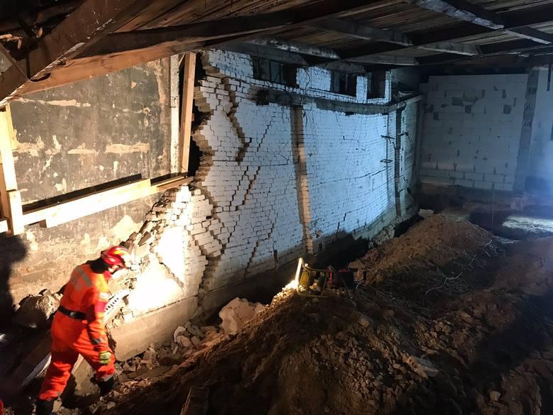 Katastrofa budowlana w Choszcznie. Zawaliła się ściana i część dachu - 30.05.2020