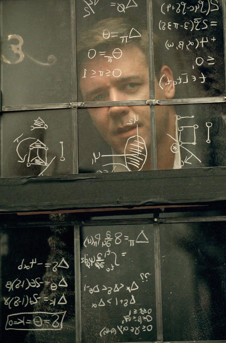 """""""Piękny umysł""""Nieszablonowa biografia jednego z największych geniuszy XX wieku Johna Forbesa Nasha Jr. Princeton, rok 1947. Na prestiżowej"""