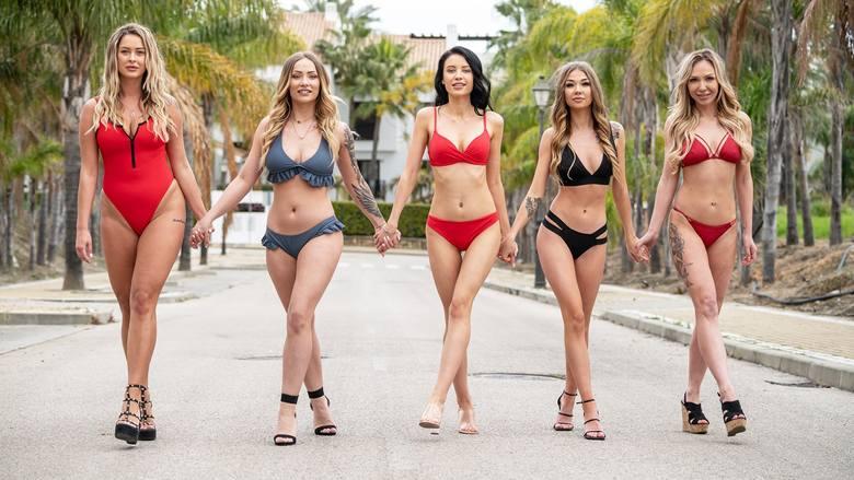 """Pięć nowych uczestniczek weszło do programu """"Love Island. Wyspa miłości"""". Wśród nich Natalia z Siewierza i Laura z Katowic.Zobacz kolejne"""