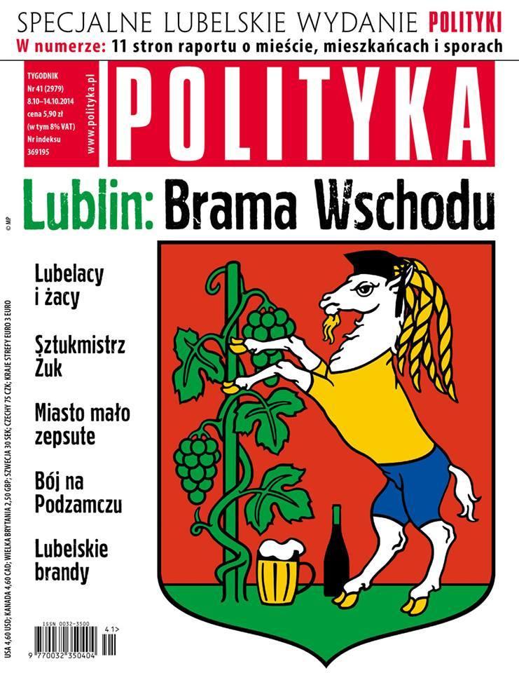 """Jak nas widzą, tak nas piszą. Tygodnik """"Polityka"""" o Lublinie"""