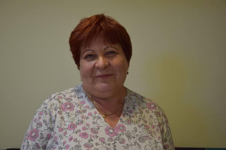 Pielęgniarka Bogumiła Zabielska przepracowała w nowosolskim szpitalu 41 lat bez dnia zwolnienia lekarskiego.