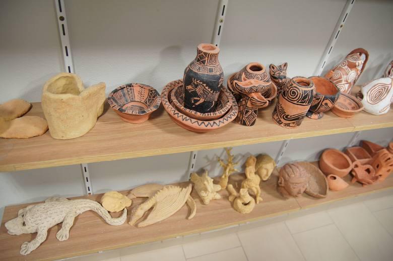 Prace ceramiczne powstają od wielu lat w Nowosolskim Domu Kultury