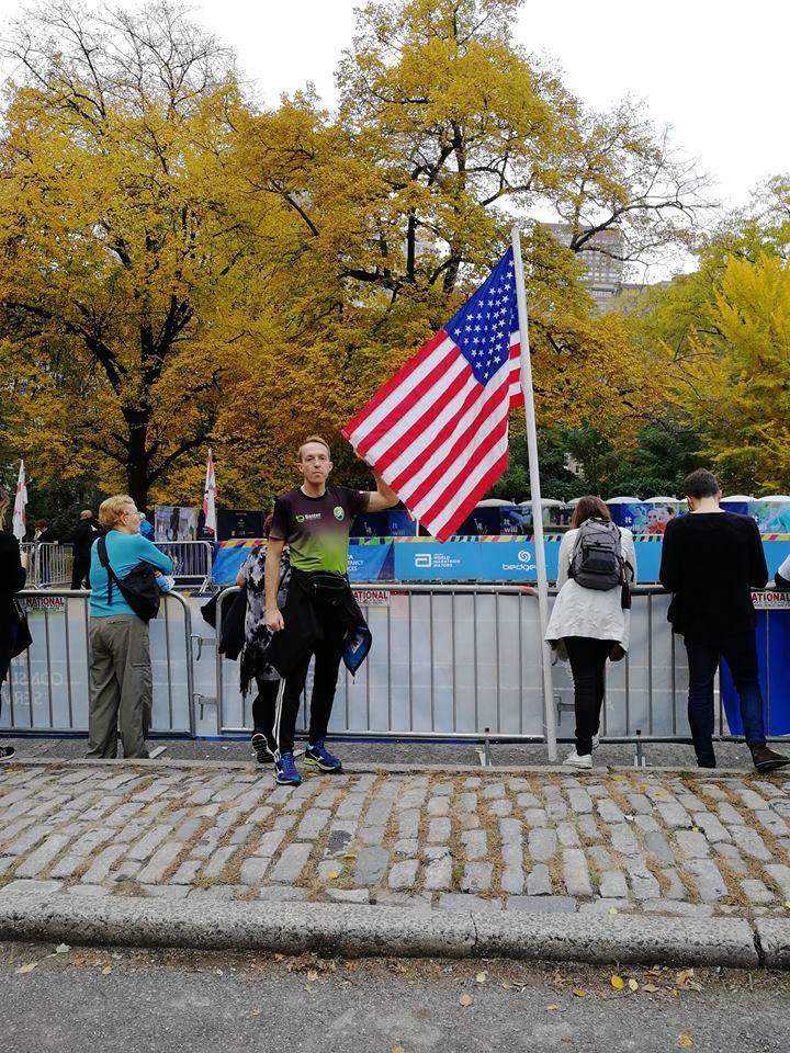 Maratończycy z Wielkopolski pobiegli w Nowym Jorku