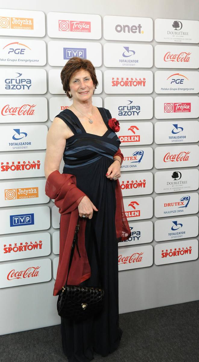 Bal Mistrzów Sportu. Na zdjęciu: Irena Szewińska