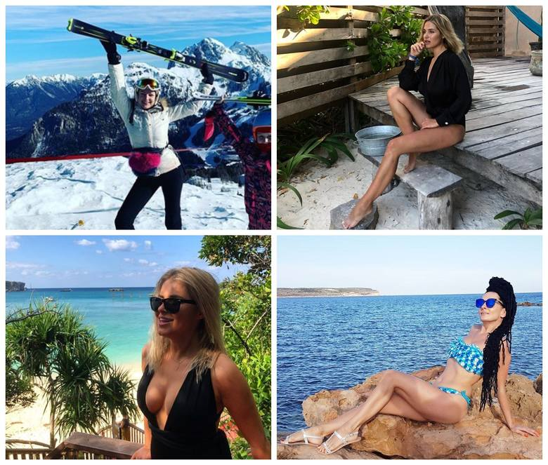 Zima 2020.  Zobacz, gdzie odpoczywają podlaskie gwiazdy! Rajskie urlopy na plażach i w górach!(ZDJĘCIA)