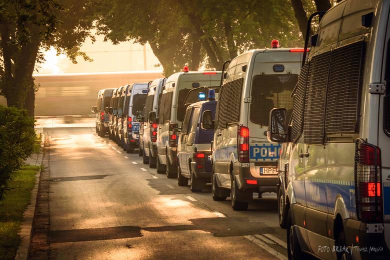 W związku z zabezpieczeniem Światowych Dni Młodzieży Szkoła Policji w Katowicach zapewniła zaplecze dla stacjonowania sił wsparcia. W tym okresie na