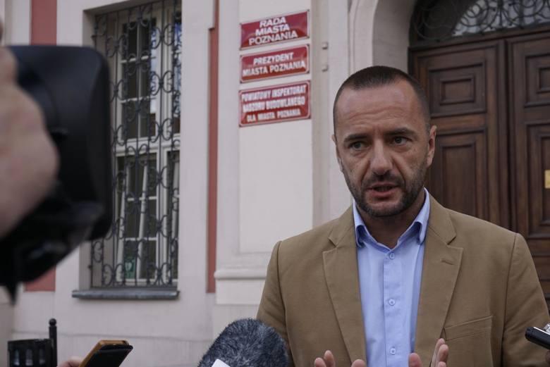 Jarosław Pucek, kibic Lecha Poznań, prawnik, niedawny kandydat na prezydenta PoznaniaTen sezon już dawno spisałem na straty, mam tylko nadzieję, że władze