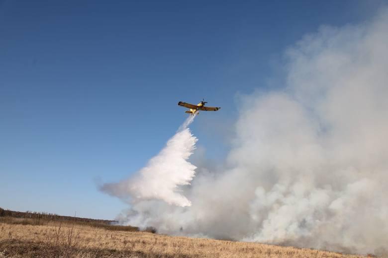 Poniedziałek, 20 kwietnia 2020W Biebrzańskim Parku Narodowym wybuchł pożar. Tego dnia ogień objął teren o powierzchni ok 500 hektarów. W akcji uczestniczyło