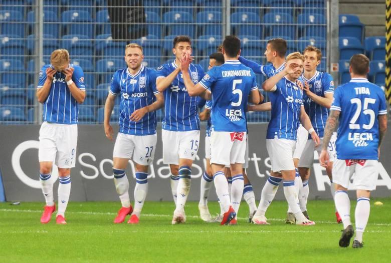 Do zakończenia sezonu zostało tylko sześć kolejek piłkarskiej ekstraklasy. Lech Poznań rywalizację w rundzie finałowej rozpoczął od efektownej wygranej