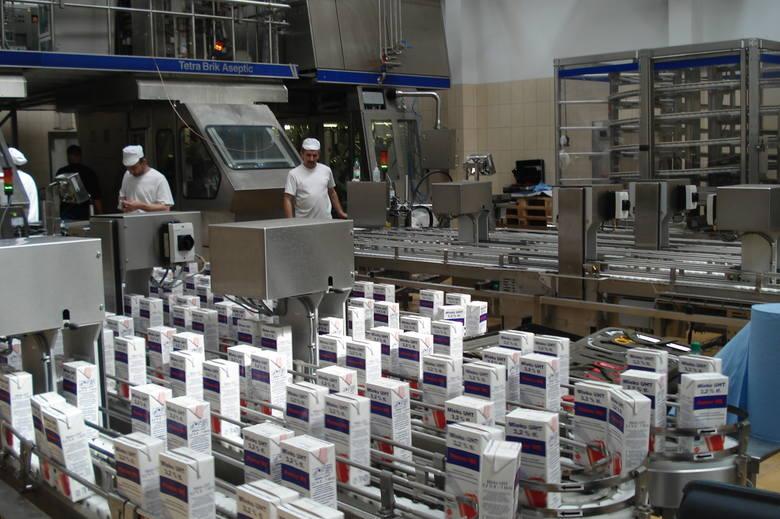 """Spółdzielnia Mleczarska """"ROTR"""" w Rypinie to producent takich znanych marek, jak Delik czy Blanco. Jako duża firma będzie musiała rozliczać"""