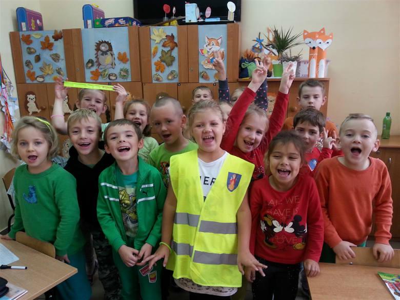Tarnów. Odblaskowa akcja w szkole na Błotnej