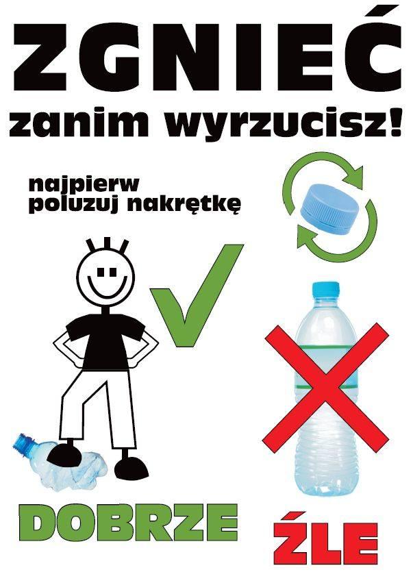 Edukacyjne tabliczki w Tarnobrzegu