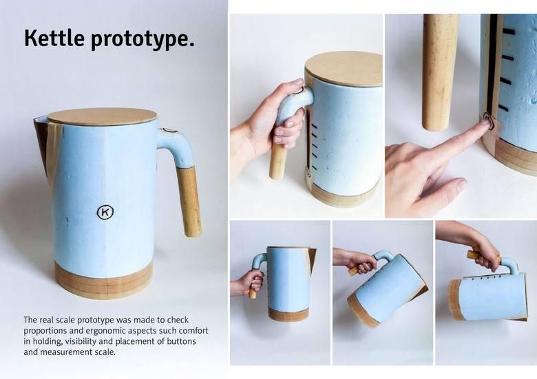 Tyszanka zaprojektowała czajnik dla firmy Kenwood, giganta wśród producentów sprzętu AGD [WIDEO]