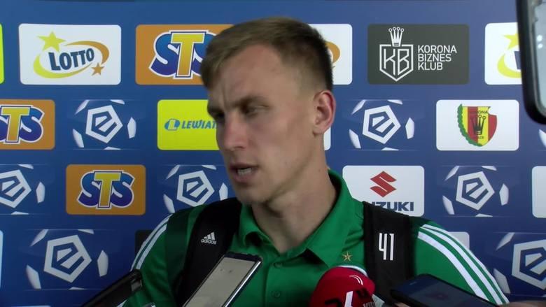 Paweł Stolarski po meczu Korona Kielce - Legia Warszawa: Liczy się tylko wynik końcowy