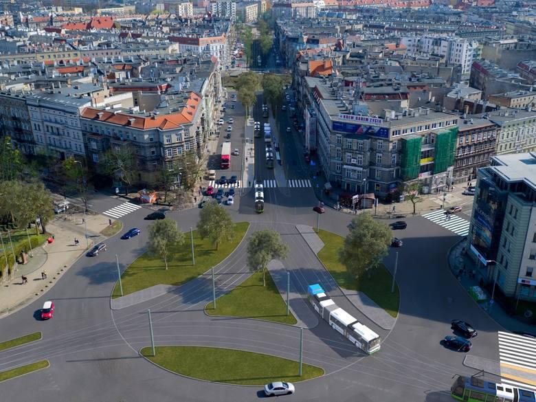 Przebudowa pl. Szarych Szeregów w Szczecinie. Zmiany dla kierowców i pasażerów [WIDEO, MAPY] - 9.01.2020