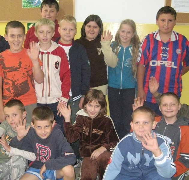 Uczniowie z V klasy najmilej wspominają wyjazd w góry na Zieloną Szkołę. - Ale to, co się dzieje w szkole, też jest super! - mówili.