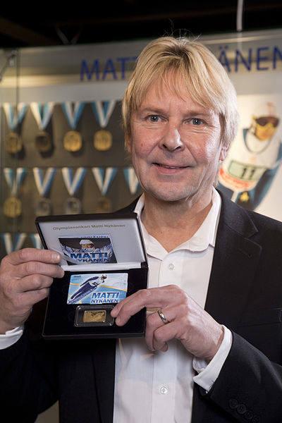 2. MATTI NYKÄNEN (Finlandia)46 zwycięstw w Pucharze Świata. Pierwsze - 30 grudnia 1981; ostatnie 1 stycznia 1989.