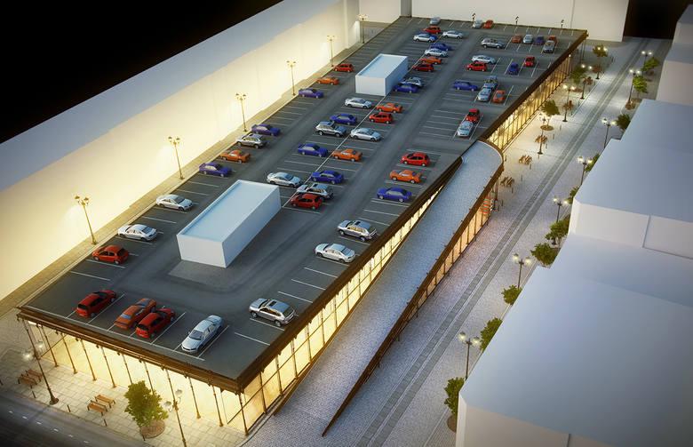 Market Miejski z parkingiem na dachu - czy tak będzie wyglądać Stary Kleparz po przebudowie?
