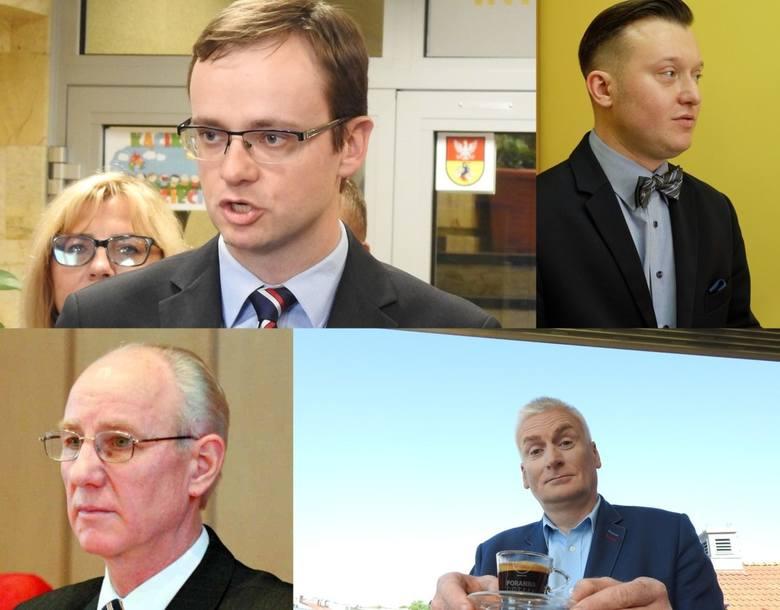 Tomasz Madras,  Krzysztof Stawnicki, Kazimierz Dudziński i Wojciech Koronkiewicz (od góry od lewej) nie będą radnymi Białegostoku