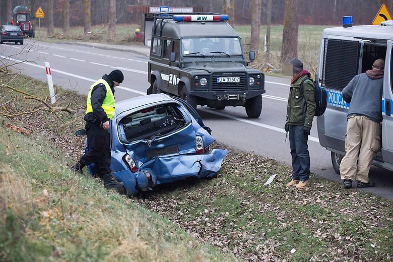 Poważny wypadek na trasie Słupsk - Ustka