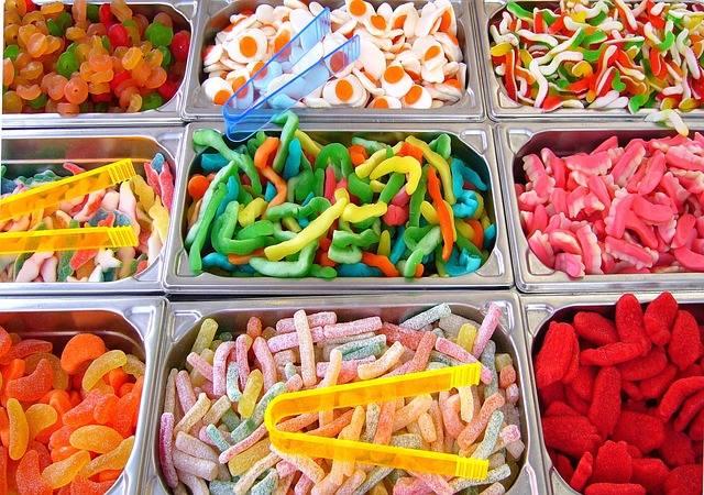 10. Słodycze. Prezenty są trafione, zawsze, wtedy kiedy są słodkie.