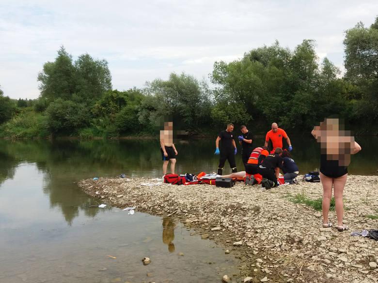 19-letni Bartosz nie żyje. Ratował tonących w Sanie