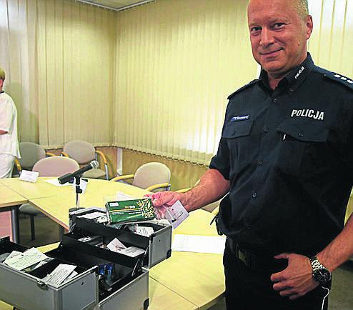 """""""Narkotykowe"""" walizki dla łódzkiej policji"""