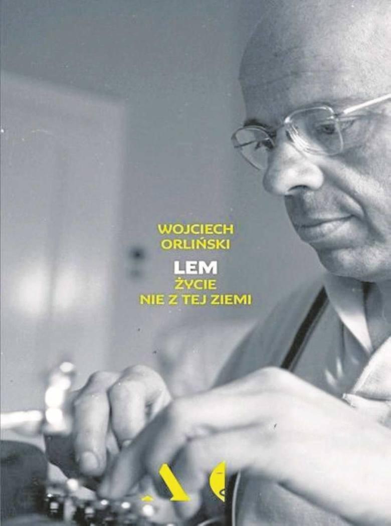 Pierwsza polska biografia Stanisława Lema.