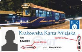 Zgodnie z postanowieniem Zarządu Transportu Publicznego w Krakowie po 31 marca 2020 roku ważność stracą karty o poniższych wzorach: Karty plastikowe
