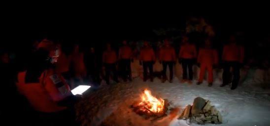 Ślubowanie nowych ratowniczek i ratowników na Klimczoku