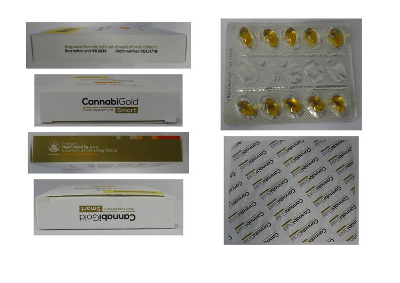 GIS WYCOFUJE KOLEJNY PRODUKT. GIS ostrzega przed produktem CannabiGold Smart. W artykule tym stwierdzono obecność tetrahydrokannabinolu na poziomie 299