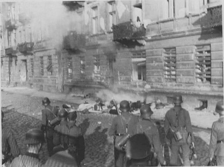 Niemieccy żołnierze na Niskiej