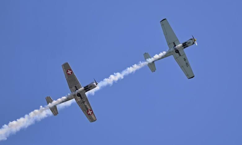 Lotos Gdynia Aerobaltic 2019 Airshow. Niesamowite widowisko na niebie i ziemi. Pokazy obejrzeć ma trzysta tysięcy osób! 16.08.2019